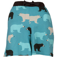Blue Bears Women's Boxer Shorts