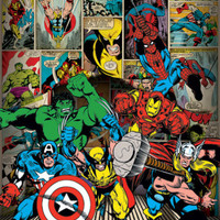 Marvel-Here Come the Heroes Posters at AllPosters.com