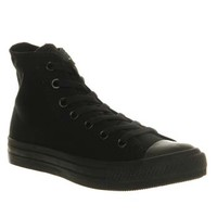 Converse Converse All Star Hi Black Mono Canvas - Unisex Sports