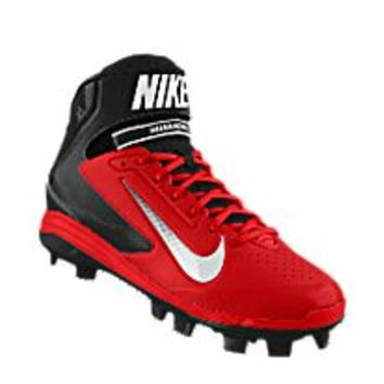 Nike Air Huarache Pro Mid MCS iD Custom Men's Baseball Cleats - Red