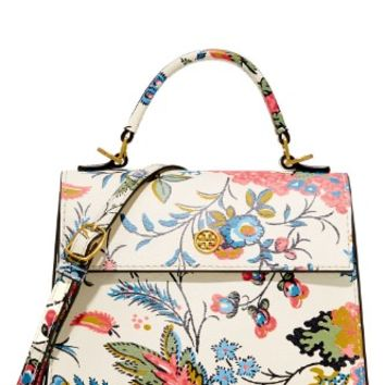 Floral Parker Small Satchel