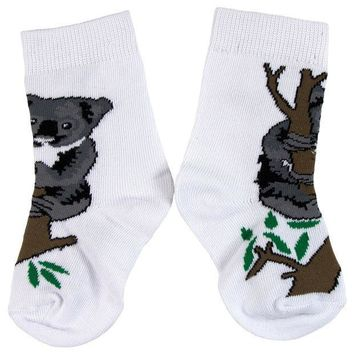 PEAPGQ9 Koala In Tree Juvy Socks