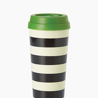 Kate Spade Black Stripe Thermal Mug Black Stripe ONE