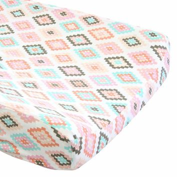 Cornered Aztec - Changing Pad Cover