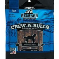 Redbarn Beef Chew-A-Bulls Dog Chew Treats 6 Pack