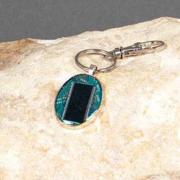 Computer Key Chain, Gifts for Him, Key Chains for Men, Computer Board Key Chain, Gifts For Men, Mens Accessories, Key Chain, Key Chains
