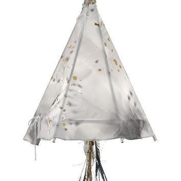 Currey Company Stardust Teepee Chandelier, Small