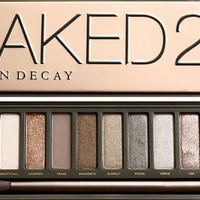 Urban Decay NAKED2 Eye shadow Palette with Lip Gloss **BRAND NEW AND IN BOX**