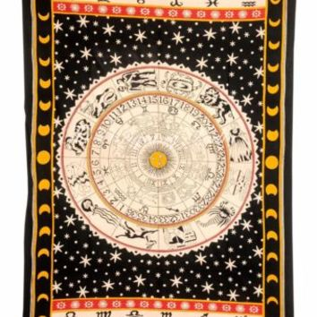 Indian Star Hippie Mandala Psychedelic Wall Hanging Tapestry Throw Ethnic 2215