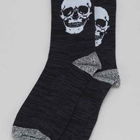 Skeletal Sock- Black One
