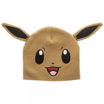 Pokemon - Brown Eevee Beanie