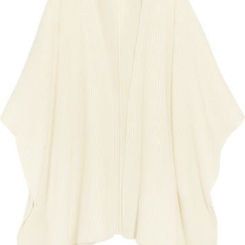 MICHAEL Michael Kors - Merino wool and cashmere-blend poncho