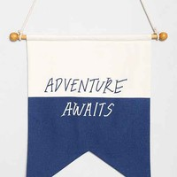 Adventure Awaits Flag- Multi One