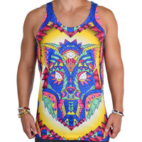 Kromatic Wolf Rave Tank Top