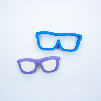 Hipster Sunglasses Cookie Cutter