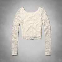 Sonia Lace Crop Top