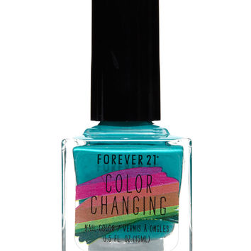 Emerald Color Changing Nail Polish from Forever 21 | Misc
