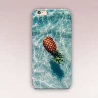 Pineapple Beach Phone Case For - iPhone 6 Case - iPhone 5 Case - iPhone 4 Case - Samsung S4 Case - iPhone 5C -  Matte Case - Tough Case