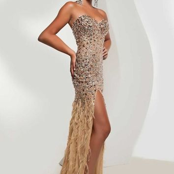 Jasz Couture 4826 at Prom Dress Shop