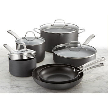 Calphalon Classic Nonstick 10-Pc. Cookware Set, Only at Macy's | macys.com