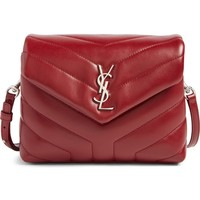 Saint Laurent Toy LouLou Calfskin Leather Crossbody Bag | Nordstrom
