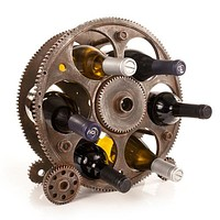 Gears and Wheels Rack Bottle