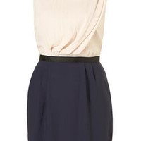 Colour Block Tuck Shift Dress - Dresses - Apparel - Topshop USA