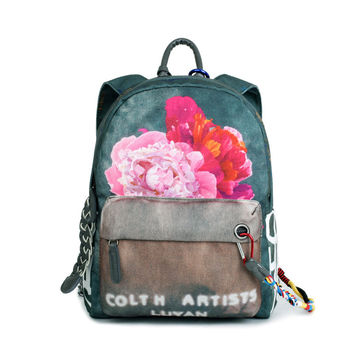 High Quality Graffiti School Backpack