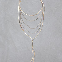 AEO Chain Layered Necklace, Gold