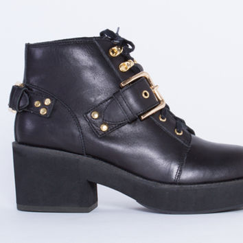 YES Oxford in Black at Solestruck.com