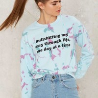 Jac Vanek Bullshitting Graphic Sweatshirt