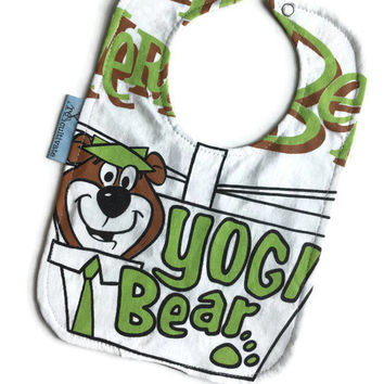 Yogi Bear Bib Baby Shower Gift
