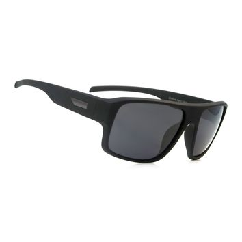 NWT Retro Polarized Sunglasses Classic Rickman Aviator Black Frame