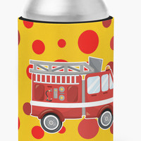 Fireman's Firetruck Can or Bottle Hugger BB6998CC