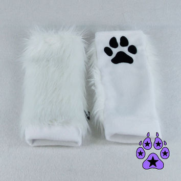 Pawstar The ORIGINAL PAW WARMERS embroidered Choose color Theme warm Blue Green Yellow Orange Black White Grey Brown Purple Red Soft 3101