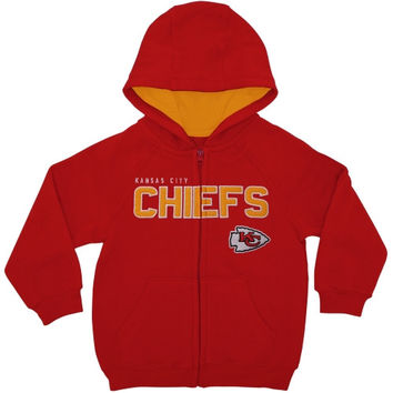 Kansas City Chiefs Toddler Fan Gear Stated Full Zip Hoodie - Red - http://www.shareasale.com/m-pr.cfm?merchantID=40295&userID=1042934&productID=549285879