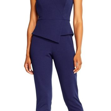Adrianna Papell - AP1E201972 Strapless Stretch Crepe Jumpsuit