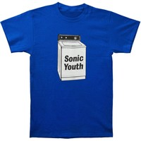 Sonic Youth Men's  Washing Machine Slim Fit T-shirt Royal