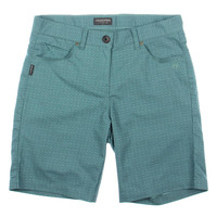 Craghoppers Womens Howell Pattern Flat Front Bermuda Shorts