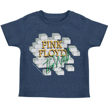 Pink Floyd Boys' The Wall Childrens T-shirt Blue Rockabilia