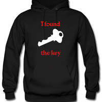 i locked my heart i found the key right Hoodie