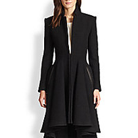 Alice + Olivia - Mary Doubleface Trenchcoat - Saks Fifth Avenue Mobile