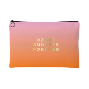 Ozark Sunsets Forever Makeup Pouch