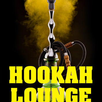 "Hookah Lounge 18""x24"" Business Store Retail Signs"