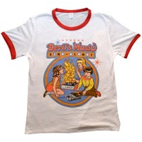 Devil's Music Ringer Shirt
