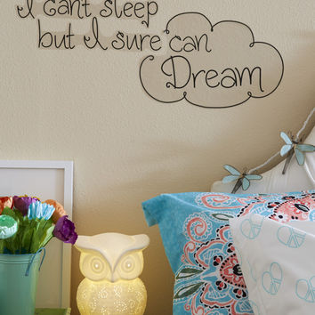 Aeropostale  Sleep Dream Wall Decal - Black, One