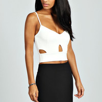 Annabelle Cut Out Detail Bralet