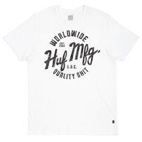 HUF - ANTIQUE TEE // WHITE