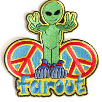 Sew On Alien Patch