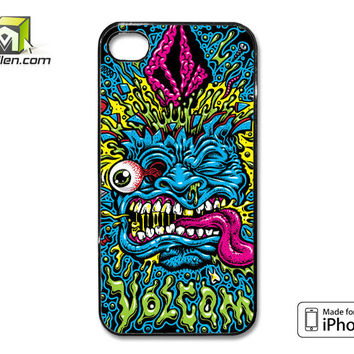 Volcom Face Jimbo Phillips iPhone 4 Case Cover by Avallen